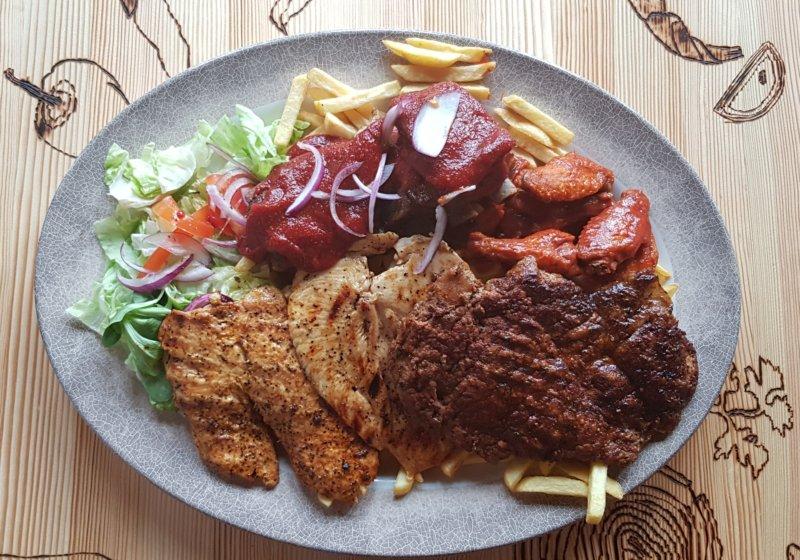Antivegetarian platter