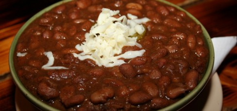 Chili beans (inc.pita brad)