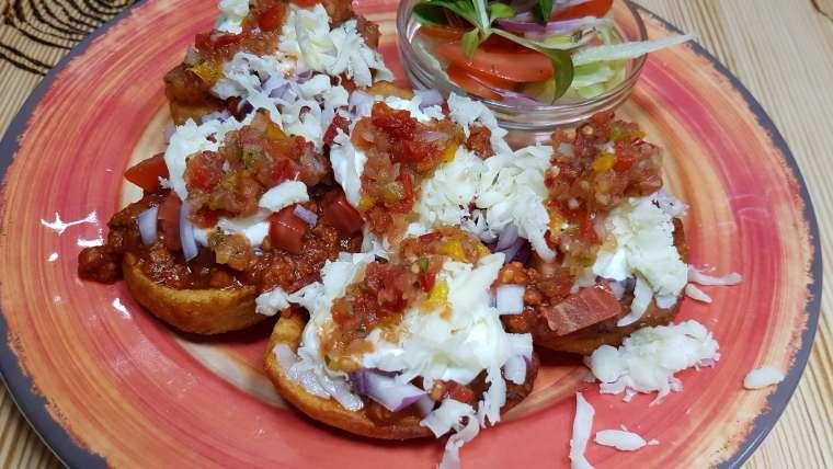 Mexican potato boats