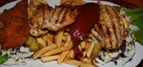 5 flavour chicken platter